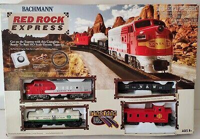 Bachmann 00678 Red Rock Express HO Scale Electric Train Set