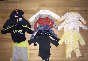 Baby clothes size new born
