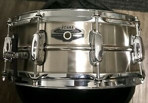 Tama stainless steel caisse claire snare drum