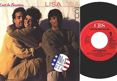 "Lisa Lisa and Cult Jam Lost in emotion Single7"" CBS Holla 1987 wie neu Disco 7,2"