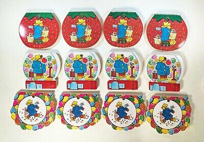 Vintage 1970s Set of 12 Paddington Bear Memo Pads - Fun party Favor](1970s Party Favors)