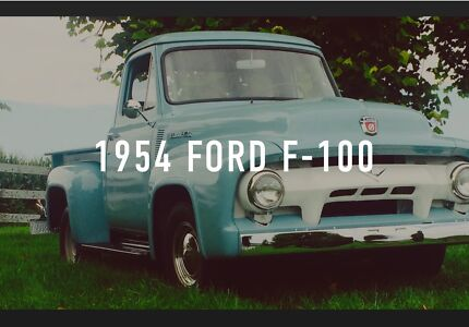 1954 Ford F100 Ute