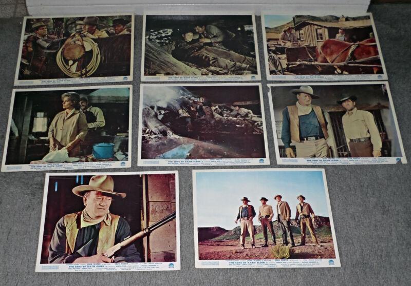 THE SONS OF KATIE ELDER orig rare lobby card still set JOHN WAYNE/DEAN MARTIN