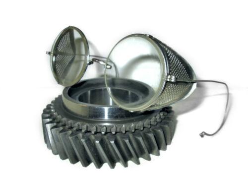 Antique Shield Goggles Retro Old Vtg Steampunk Safety Glasses