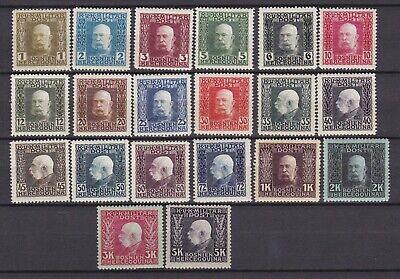 Bosnia Herzeg - 1912 - Michel 64/83  - MNH - 380 Euro