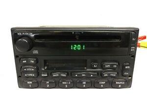 Ford OEM CD cassette RADIO Escape Ranger Explorer F250 F350 Windstar E150 99-09