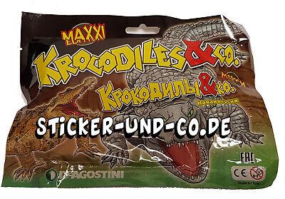 DeAgostini Krocodiles & Co.Maxxi Edition 1 Booster Tüte Krokodile und CO