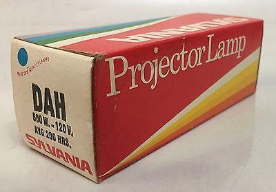 Sylvania Projector Lamp Bulb Dah 120 V 500 W Nos
