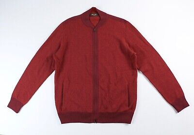 Loro Piana Cashmere Bomber Sweater EU 56 $1765