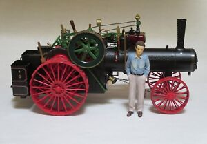 LIVE STEAM  ENGINE ERTL CASE 40 TRACTOR 1/12 scale modified to run on real steam