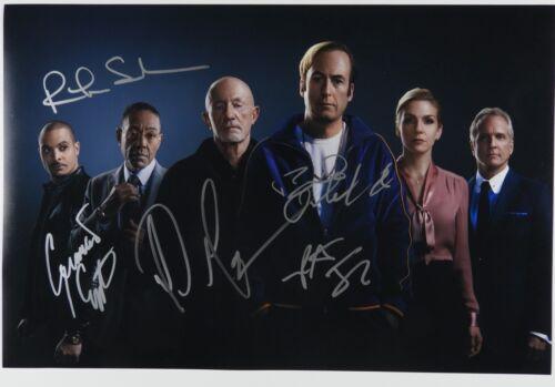 Better Call Saul JSA Cast 5 signatures signed autograph 12 x 18 photo