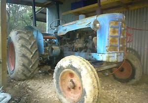 Tractor Fordson  Super Major good mechanical condition. Hurstbridge Nillumbik Area Preview