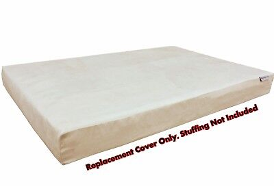 Dog Bed Duvet Replacement Cover for Small Medium Extra Large Pet -Suede in