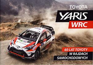 Toyota Yaris WRC 2017 Broschüre brochure selten - Warschau, Polska - Toyota Yaris WRC 2017 Broschüre brochure selten - Warschau, Polska