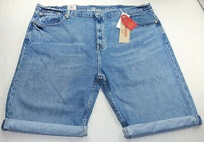 Levi's 502 Men's Denim Shorts Short Jeans Pants 44 Tapered Stretch Classic Fit