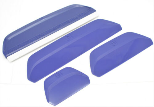New YUDU Squeegee pro Kit 4 Sizes Provo Craft 62-5100 +1 w/ Premium Rubber Blade