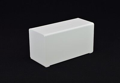 Suggestion Box / Collection Box in Acrylic PDS9458 White