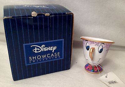 Disney Showcase Chip Figurine Beauty Beast Cup NEW with FREE SHIPPING