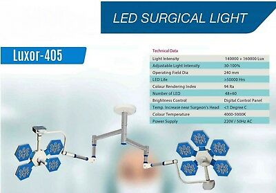 Led Surgical Light Ceiling Mobile Wall Mounted No Of Led 48 60