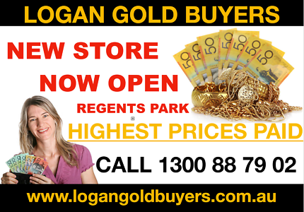 Logan Gold Buyers NOW OPEN regents park HIGHEST PAYOUTS ON GOLD