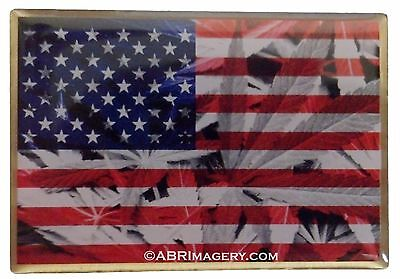 Hat Pin 54   United States Of Cannabis   Rare    Limited Edition Headdy 420