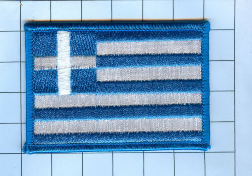 International Flag Patch Greece