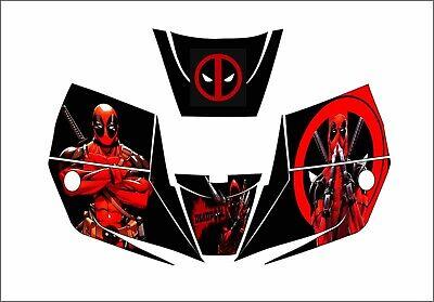 Miller Pro Hobby Classic Digital Welding Helmet 256166 - 251292 Decal Deadpool