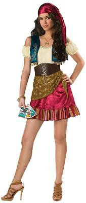 Teen Girls Gypsy Halloween Costume Brand New Incharacter Juniors Medium - Gypsy Girl Costume