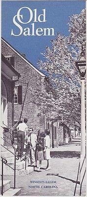 1960's Old Salem Promotional Brochure
