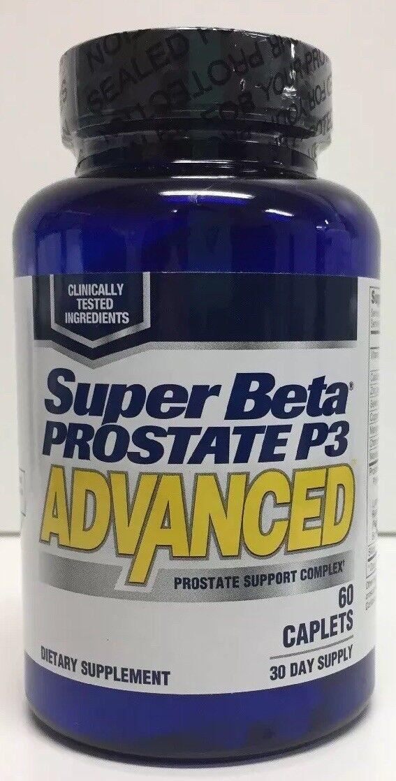 (New) Super Beta Prostate P3 Advanced By New Vitality - 60 Caplets