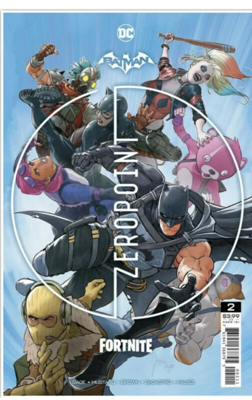 Batman/Fortnite - Zero Point #2 - Cover A - Sealed W/code! Fast Shipping