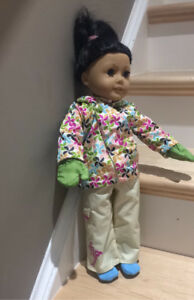 American Girl Doll Retired Snowboard Outfit