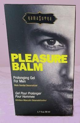 Kama Sutra Pleasure Balm Male Genital Prolonging Desensitizing Gel 1.7 oz - Pleasure Balm