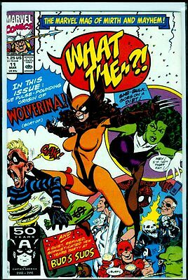 Marvel Comics WHAT THE..?! #11 Wolverina NM- 9.2