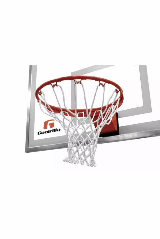 Goalrilla Heavy-Weight Pro-Style Breakaway Basketball Flex Rim with Nylon Net