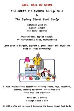 The Great BIG Indoor Garage Sale Murrumbeena Glen Eira Area Preview