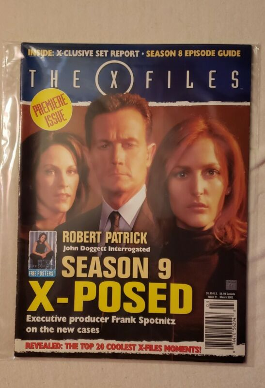The X-Files Magazine - Premiere Issue/ March 2002 - mint