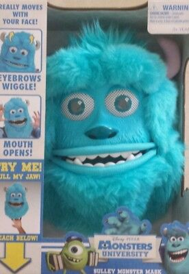 NEW DISNEY PIXAR MONSTERS INC UNIVERSITY SULLEY PARTY COSTUME FACE MASK (Monsters University Costume)