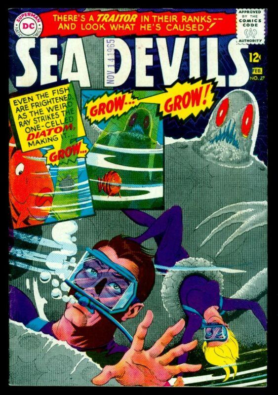 DC Comics SEA DEVILS #27 VFN- 7.5