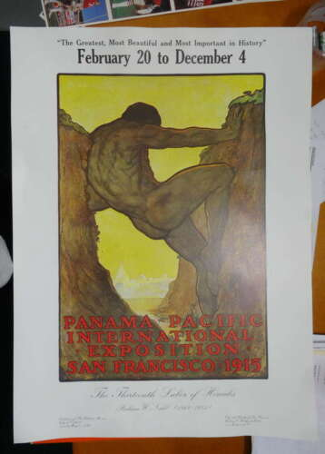 Poster, 1915 Panama-Pacific Expo, 1980