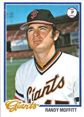 1978 Topps #284 Randy Moffitt NM-MT Giants