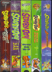 Scooby-Doo Classics - Lot of 5 Video Tapes - All SEALED Factory Originals (VHS)