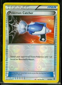 Pokemon POKEMON CATCHER 95/98 Emerging Powers Rev Holo MINT!