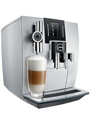 JURA J6 Automatic Bean to cup Coffee Machine Brilliant Silver NEW Sealed Cheapes