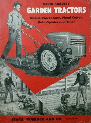 David Bradley Garden Tractor Sales, Owner, Engine, Parts & Service (5 Manual s) for sale  Shipping to India