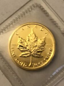 1/10 oz. Gold coin.