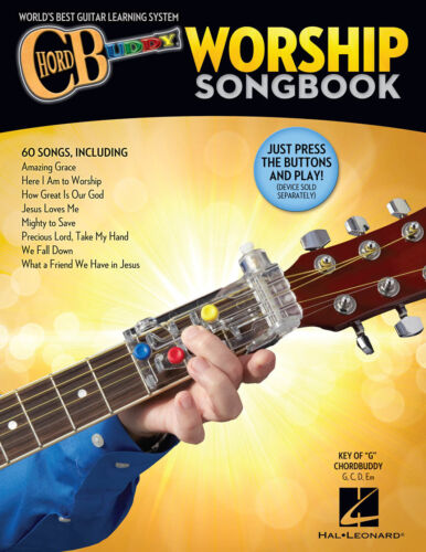 ChordBuddy Worship Songbook Softcover Learn 60 Songs Key of G