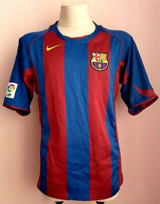 Barcelona 2004  - 2005 Home football Nike shirt size L image