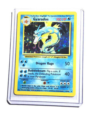 GYARADOS - 6/102 - Base Set - Holo - Pokemon Card - EXC / NEAR MINT