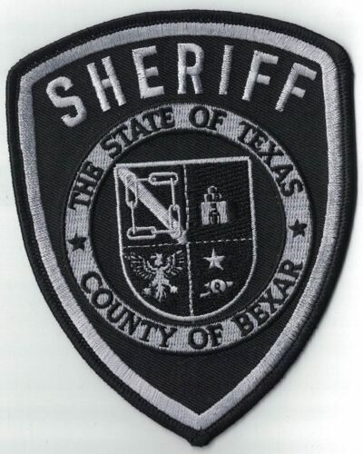 County of Bexar Sheriff TX subd. Texas Police Patch